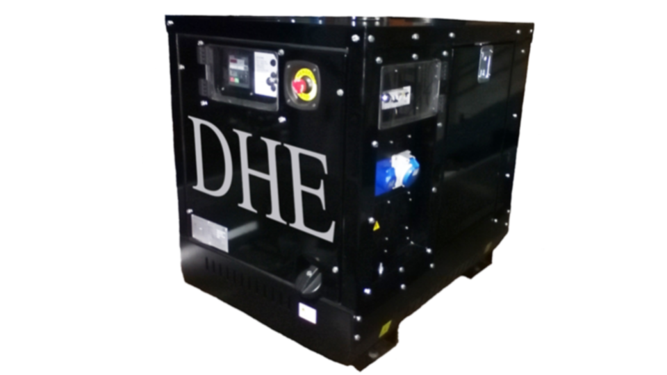 Oxfordshire Stage Hire 8KVA Ultra Silent Road Towable Diesel Generator