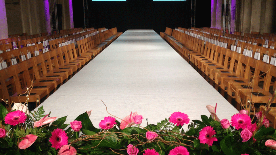 Catwalk Hire 3 with carpet